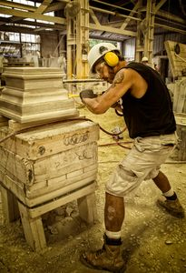 The Art of Carving Limestone