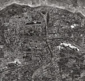 Diorama Map Kyoto © Sohei Nishino/Courtesy of Michael Hoppen Contemporary© Sohei Nishino
