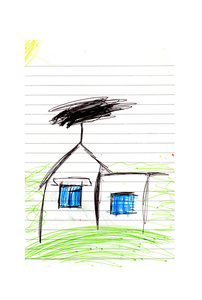 Sabina, House Drawing