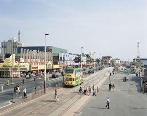 Blackpool Promenade, Lancashire, 24 July 2008 © Simon Roberts