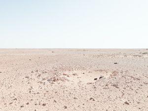 "Infantry position, Bir Hachim Battlefield, Libya | From the book ""Topography is Fate: North African Battlefields of World War II"" | © Matthew Arnold Photography"