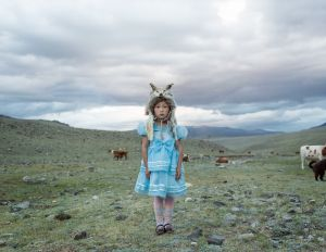 "Kauser. Mt. Tsambagarav, Mongolia, 2014. From the series ""The Outsider."""
