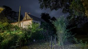 The home that remains undemolished