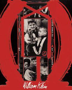 Couverture du livre rétrospective de l'exposition, Editions Marval et Centre Pompidou, © William Klein
