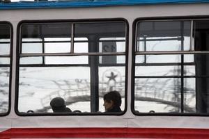 A Soviet bus ride.