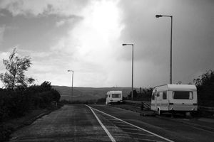 Roadside Illegal Encampment