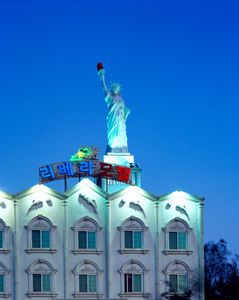 The Statue of Riviera, 2005-2013, Chromogenic Print, 178x220cm
