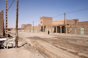 Street, Merzouga