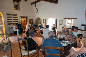 2015 Retreat: A Full group session with a Mentor's Presentation