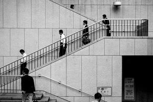 Workers near Shinjuku, Tokyo