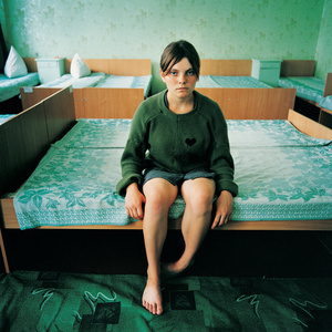 Katya, Sentenced for Theft,  Juvenile prison for girls, Ukraine 2009