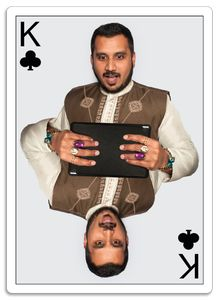 Planing Card - King of Clubs