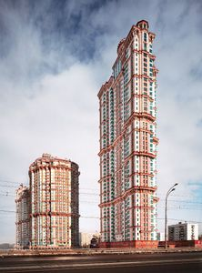 Aliye Parusa Towers, Moscow, 2008