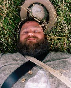 Matt Meeker, 3rd Arkansas Company D, Died 122 Times                                                    © Eliot Dudik