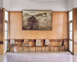 Landscape (painting)_Dinning Hall_Kibbutz Yiftach, 2015