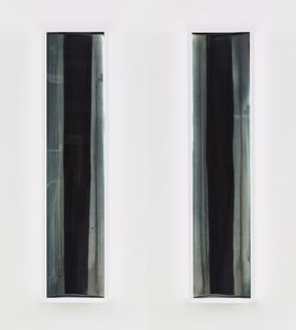 Liz Deschenes, Untitled (zoetrope) #1 and Untitled (zoetrope) #2, 2013 © Liz Deschenes, courtesy Miguel Abreu Gallery, New York