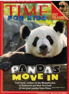 Time Magazine for Kids Cover