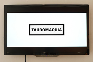 Display Film Tauromaquia.