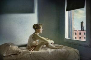 "Morning Sun. From the series ""Hopper Meditations"" © Richard Tuschman"