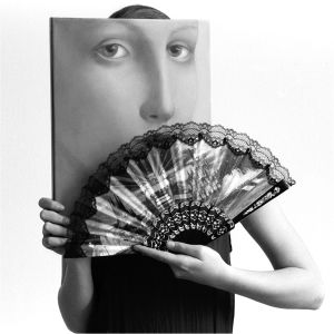 Fandango, from Transfigurations: A Collaboration, © photographer Richard Bram and painter Silvia Willkens, 2007