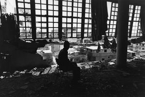 "Lebanon. Beirut. Psychiatric hospital of Sabred. 1982. From the book ""War Photographer: Between Shadow and Light"" © Christine Spengler"