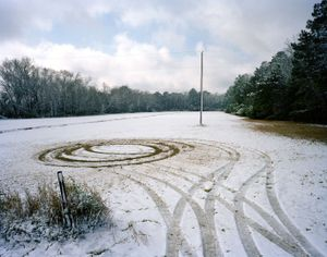 First Snow in Twenty Years, Rosa Scott Road                                                                       © Eliot Dudik