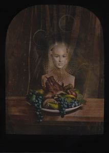 © Zelko Nedic, The Dinner                5x7 Tintype, Hand Coloured