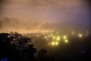 San Salvador at night