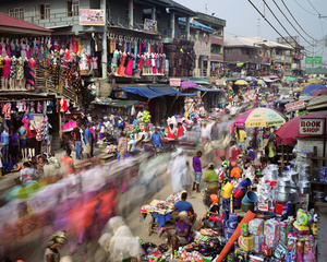 Oshodi Road, Oshodi, Lagos, Nigeria, 2015.