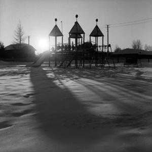 Playground. Sredniy Vasyugan. Tomsk region. Russia. 2009.