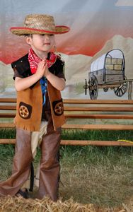The Littlest Cowboy © Dianne Yudelson