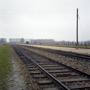 Railway Tracks, Auschwitz-Birkenau Memorial and Museum
