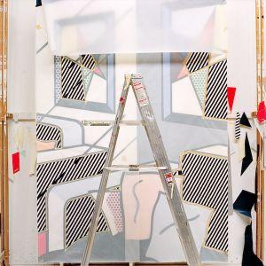 Ladder, 1992, from the series Inside Roy Lichtenstein's Studio © Laurie Lambrecht, 19901992