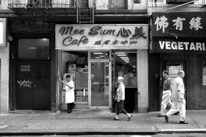 """Mee Sum Cafe"" New York City, 2011"
