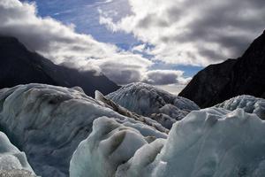 Franz Josef Glacier, New Zealand.