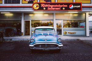 Oldsmobile 88. Reykjavik, Iceland.