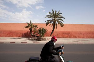 Wall, Marrakech