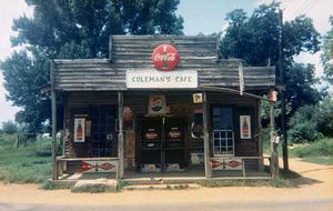 Coleman's Café, Greensboro, Alabama, 1977