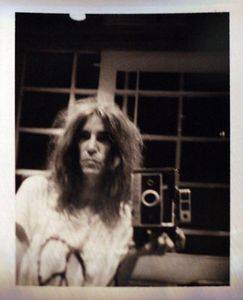"Polaroid photo by Patti Smith, from the exhibition ""Land 250"" at Fondation Cartier pour lart contemporain, Paris, March 28  June 22, 2008 © Patti Smith © Fondation Cartier pour lart contemporain"