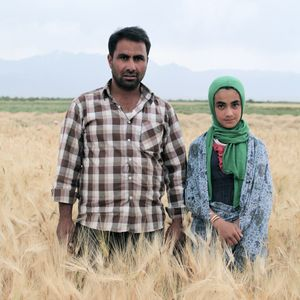 "© Nafise Motlaq - Zahra's father is a farm worker.""He works a lot. He works so much"""