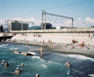 The Beach, Adler, Sochi Region © Rob Hornstra and courtesy of Flatland Gallery