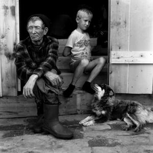 The locals. Noviy Vasyugan. Tomsk region. Russia. 2009.