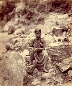 Mountain Woman, 1868 © Samuel Bourne, Robert Hershkowitz