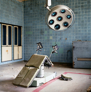 Germany East, Jueterbog. Soviet Army hospital.