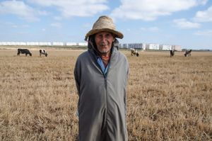 The Farmer. Casablanca, Morocco