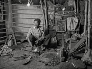 BLACKSMITH, $30 WEEKLY, 2013 © Supranav Dash