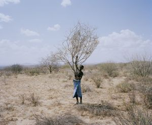 samburu moran # V, west gate community conservancy, northern kenya-from the series 'with butterflies and warriors'-David Chancellor