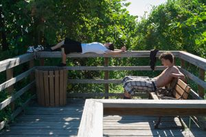 The High Schoolers, The Nature Preserve, Key West, Florida. © Rona Chang