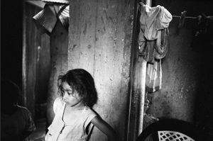 Girl in the Light, Bourj El Shamali Camp, Tyre Lebanon 2005