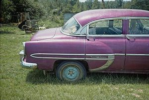 Magenta Car, Havana, Alabama, 1976